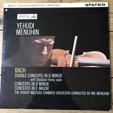 ASD 346 Bach Violin Concertos / Menuhin / Ferras W/G