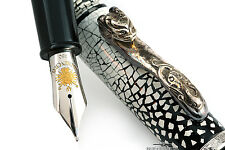 Loiminchay Snow Limited Edition Fountain Pen w/ Sterling Silver Clip - #07/10