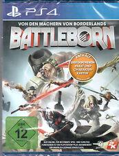 PS4 Spiel Battleborn Day 1 Edition inkl. Erstgeborenen DLC Paket NEUWARE