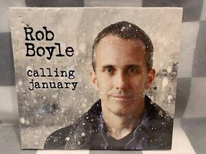 Calling January ~ Rob Boyle CD NEW Sealed