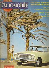 L'AUTOMOBILE 193 1962 DAIMLER SP 250 VOLVO 122 B18 HISTOIRE ALFA ROMEO WANKEL
