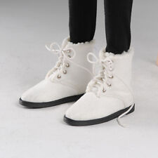 Dollmore doll shoes Model Doll F - GGK Som Boots (White) out length 9.5cm