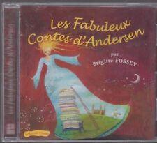 CD AUDIO LES FABULEUX CONTES D'ANDERSEN vol ROUGE Brigitte Fossey