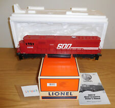 LIONEL #18232 SOO LINE SD60 TMCC DIESEL ENGINE LOCOMOTIVE STANDARD O GAUGE TRAIN