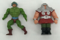 MAN AT ARMS 1983 Vintage He-man Masters Universe MOTU & RAM MAN 1982 Figure Lot