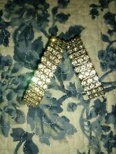 Bracelets From About 1950's wedding Vintage Set Of Rhinestone Expansion