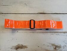 Safety Flag SBWRX2RO Fluorescent Reflective Waist Belt Orange Safety Adjustable