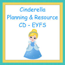 Cinderella Planning and Resource Pack on CD, EYFS, Reception, Teaching, Display