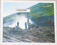 LESOTHO 1990 Block 75 S/S 787 Highland Water Project Staudamm Scenes MNH