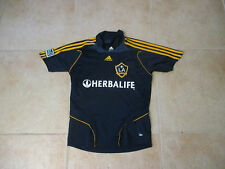 VINTAGE ADIDAS LOS ANGELES GALAXY YOUTH MEDIUM SEWN BLUE JERSEY 2009-10 WOMEN'S