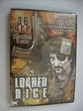 LOADED DICE - DVD SIGILLATO PAL - TOM SAVINI - DEREK REYNOLDS