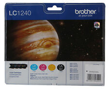 Original BROTHER LC1240VALBPDR Valuepack Tinte DCP-J525W DCP-J725DW DCP-J925DW