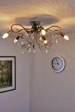 Lustre classique Lampe à suspension Plafonnier Luminaire de salon en métal 57971