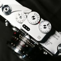 DOOMO Meter D Hot Shoe Light Meter For Dual Lens Reflex Camera 120/135 x-top