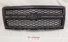 23259625 2014 2015 Chevrolet Silverado 1500 OEM Work Truck Black Grille NEW
