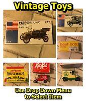 Vintage Boxed Toy Cars & Vans Tomica Model T Ford Best Box Majorette Lledo +More