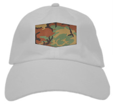 Camo Patch Dad Hat (Grey)