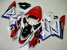 For KAWASAKI ZX10R 2004 2005 ABS Injection Mold Bodywork Fairing Kit Red White