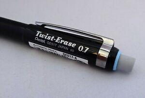 Pentel Twist Erase Mechanical Pencil Ideal Grip For Dyspraxia Dyslexia 0.7mm