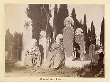 Guillaume Berggren, Turquie, Femmes Turc au Cimetière, Costumes Traditionnels  V