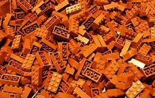 200 PCs Generic Brown 2x4 building bricks, Blocks Alternative Option to 3001