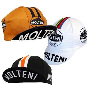 Vintage Molteni Cycling Cap Eddie Merckx