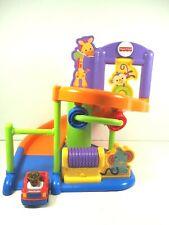 2003 Fisher Price Toddler Jungle Garage Ramp One Car