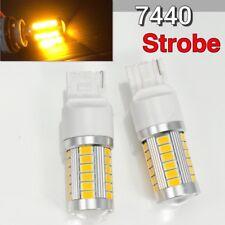 Strobe Rear Signal T20 7440 7441 12V 33SMD Amber LED Light K1 For Infiniti H