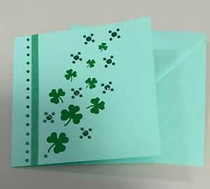 St. Patrick's Day Shamrocks Greeting Card