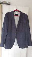 *TOMMY HILFIGER Blue pinstripe TAILORED suit jacket chest 52cm