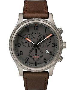 Timex Allied LT Quartz Movement Grey Dial Men's Watch TW2T32800