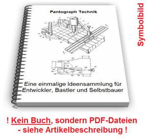 Pantograph selbst bauen - Scherenpantograph Feldpantograph Pantograf Technik