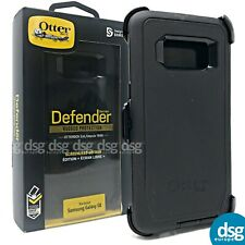OTTERBOX DEFENDER COVER CASE FOR SAMSUNG GALAXY S8 SCREENLESS RUGGED - BLACK