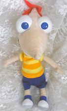 """Disney Store Phineas and Ferb - Phineas Plush Bean Bag Doll 10"""""""