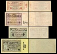 100 Mrd - 5 Bill Mark - Reichsbanknoten November 1923 - 11.Ausgabe- Reproduktion