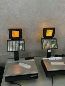 3 Mettler-Toledo bC-U2 Waagen, Matrix Display und Kassenfach mit Fiskal (GdPdU)