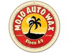 MOJO AUTO WAX San Diego CA Metal Sign Man Cave Body Shop Club Garage Barn v218