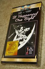 It Happened One Night Vhs, New And Sealed, Gable & Colbert, Best Picture Winner!
