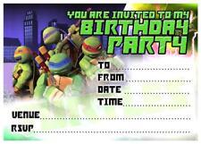 Teenage Mutant Ninja Turtles Greeting Cards Invitations Ebay