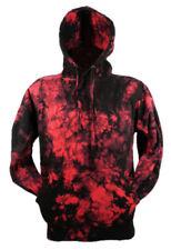 Magliette da uomo rossi con cappucci Taglia XL