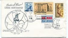 1973 USCGC Cutter Northwind WAGB-282 Deepfreeze Antarctic Polar Cover SIGNED