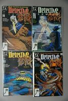BATMAN Detective Comics #604-607 (1989) DC 605 606 CLAYFACE MUD PACK RUN