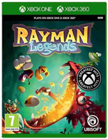 Rayman Legends Xbox One Xbox 360 Backwards Compatible Ubisoft Action - New!