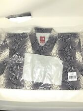 Supreme The North Face Ss18 Snakeskin Taped Seam Coaches Jacket Black Medium
