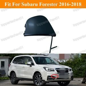 1Pcs Front Bumper Tow Hook Eye Cover Cap for Subaru Forester 2016-2018