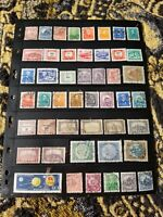Hungary Stamp Collection - Used - Mostly Classics - 4 Scans - B17