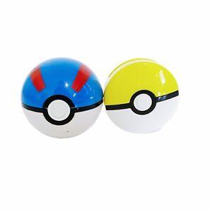 2 x Pokemon Pokeball Poke Ball McDonald's Toy Lot