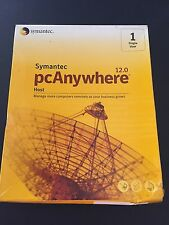 symantec pcanywhere host