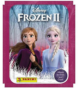 Panini Disney FROZEN 2 II  (2019)  20 sealed packs stickers and cards