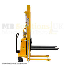 2000kg  Semi Electric Lifter Mover Stacker  2 m llift  height VAT Inc
